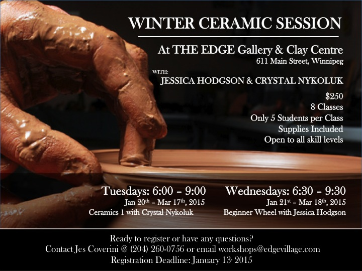 Winter Ceramic Session