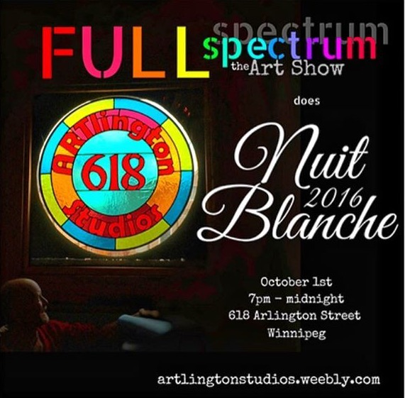 Full Spectrum Nuit Blanch 2016